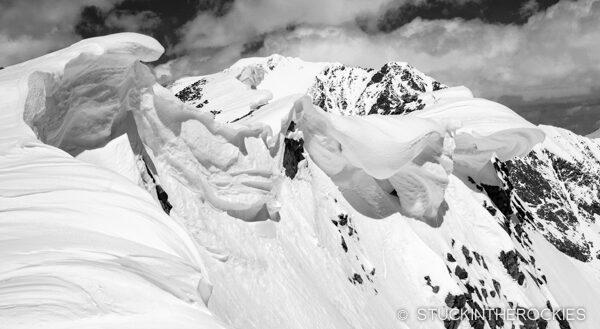 Cornices on Mount Blaurock