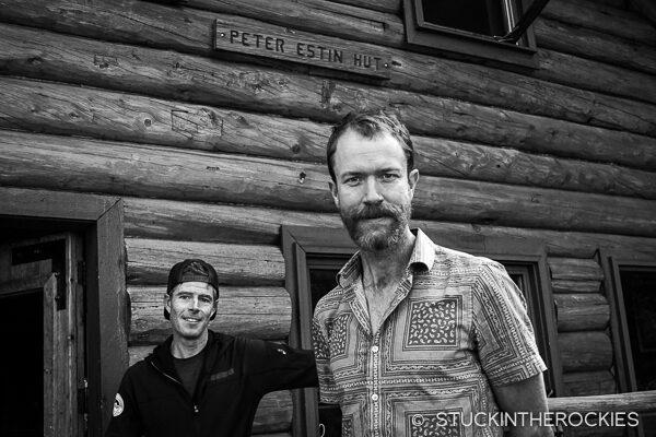Rickey Gates and Ted Mahon on Hut Run Hut