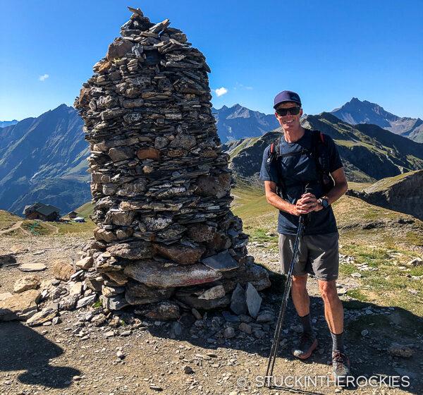 Ted Mahon on the Col de la Croix du Bonhomme