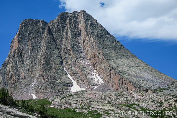 Vestal Peak and the Wham Ridge