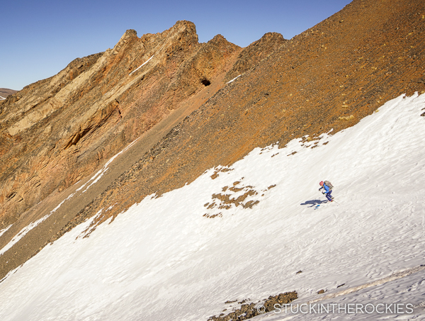 Christy Mahon, and a ski descent of Ayyachi in Morocco.