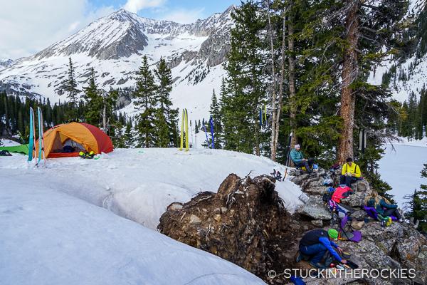 Camping at Geneva Lake