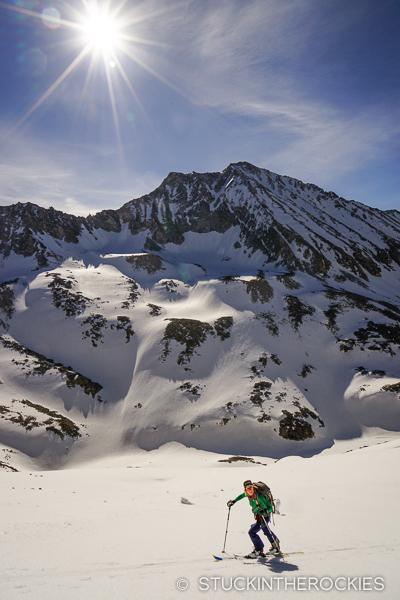 Christy Mahon on Siberia Peak