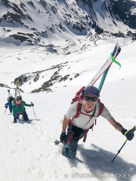 Ted Mahon climbs Siberia Peak