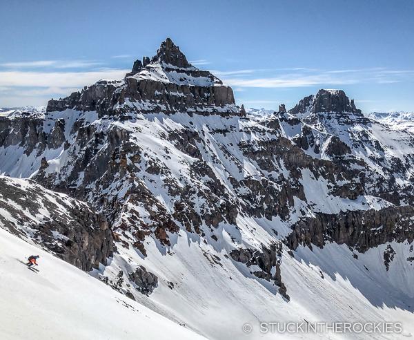 Skiing Cirque Mountain