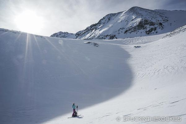 Approaching Drift Peak