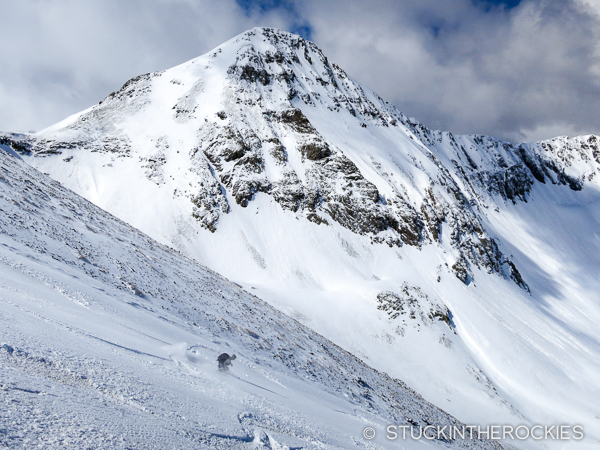 A view of the north face of Niagara Peak