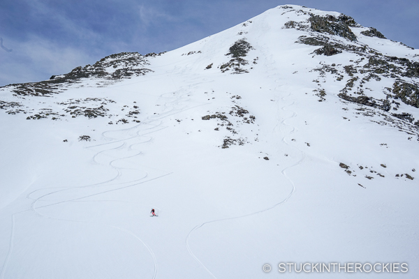 Niagara Peak ski lines