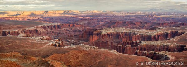 Monument Basin and the White Rim.