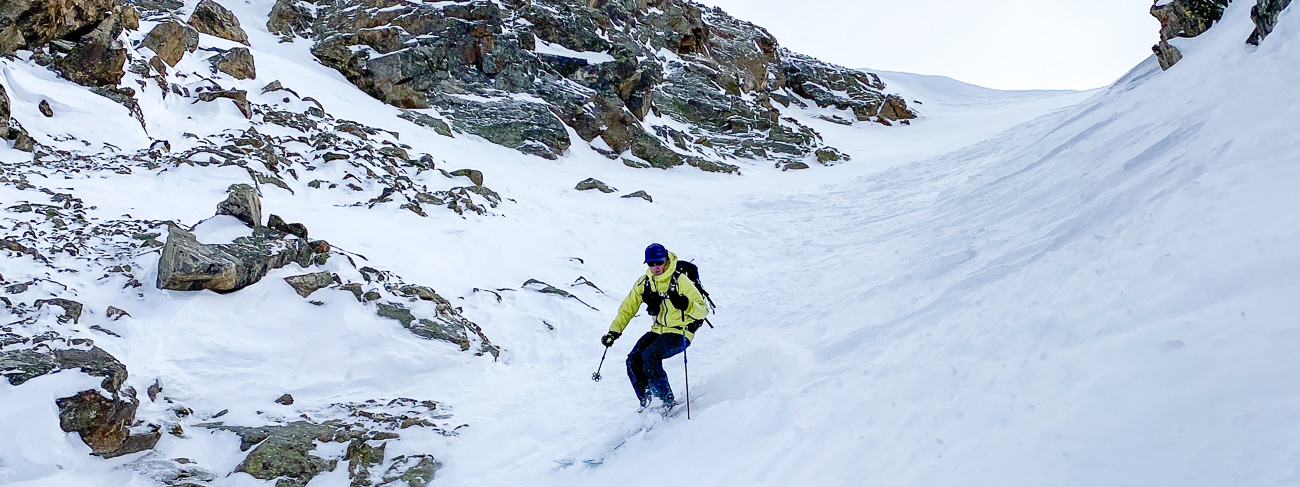 Ted Mahon Colorado backcountry skier
