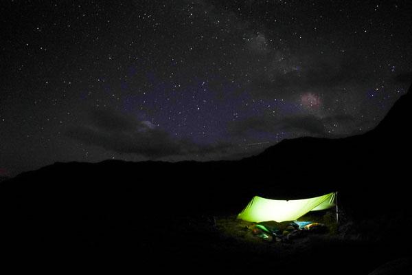 Camping at Venable Lakes